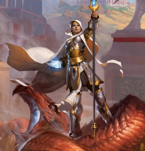 MtG-Theros-Elspeth-Art